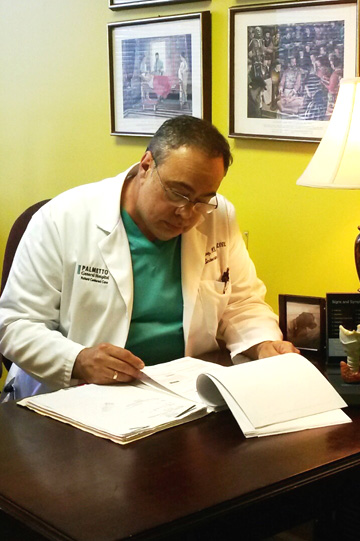 Rodolfo A. Perez, MD, FACE, ECNU is board certified in Endocrinology, Diabetes, and Metabolism.