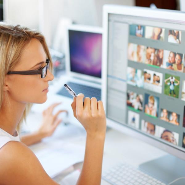 Photograph of Female Website Designer