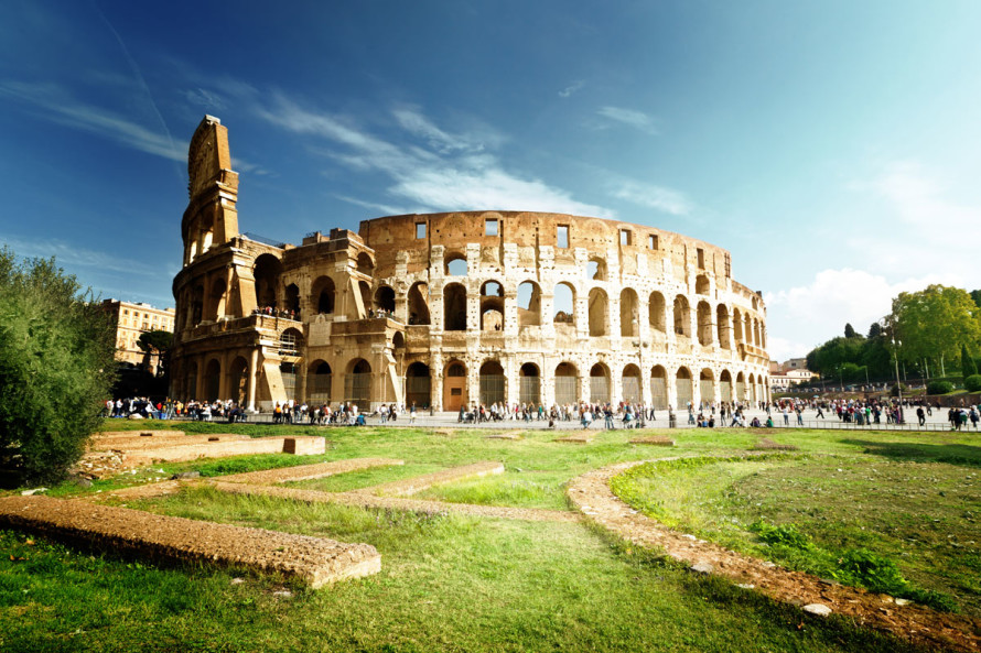 Photo Of Roman Coliseum