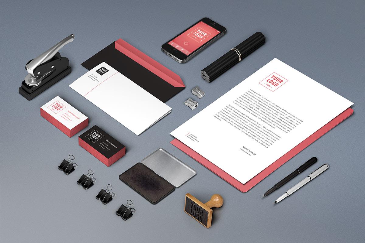 Corporate Branding Package Photo