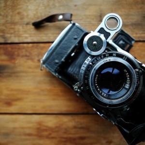 Old Fashioned Vintage Camera