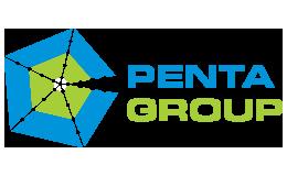 Penta Group Blue And Green Large Logo