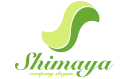Shimaya Green Curved Small Logo With Letter S